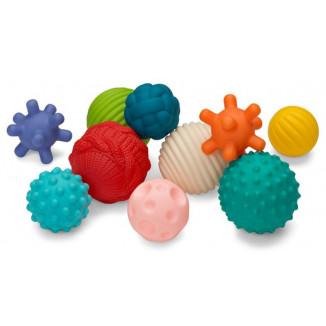 10 Senso Balles BKIDS Multicolores