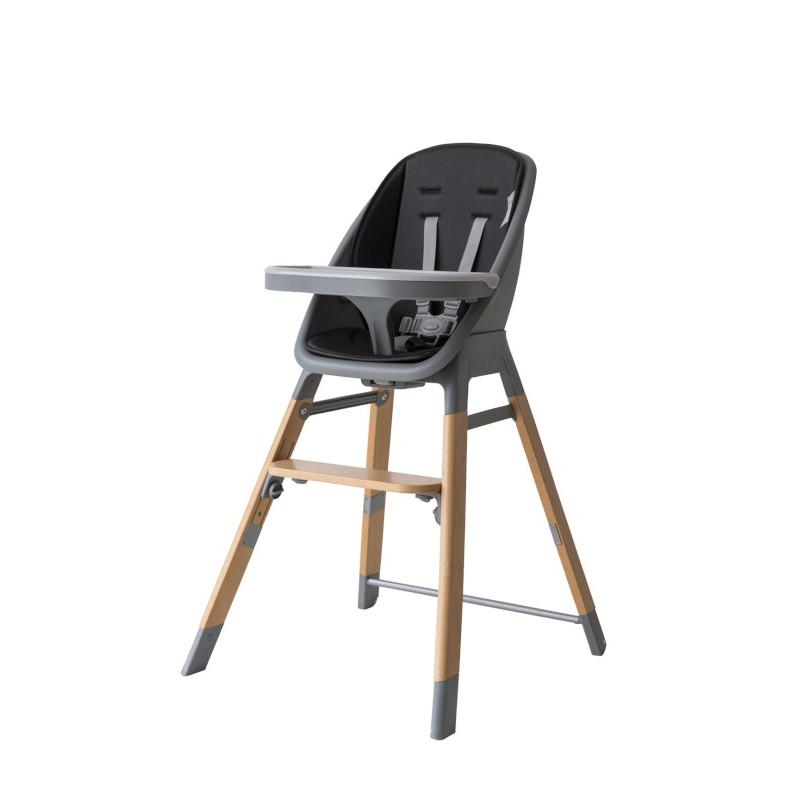 Chaise-haute évolutive Mambo PERICLES Noir