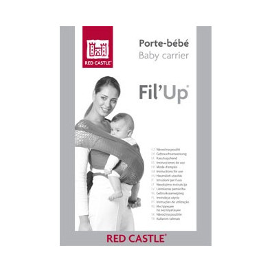 Echarpe PBB Fil'up RED CASTLE S/M Rouge