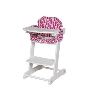 Coussin chaise haute Sylvana fleur PERICLES Friends