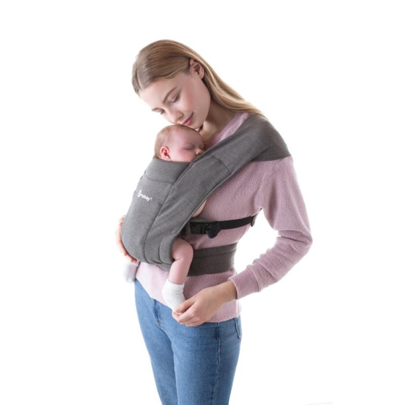Porte bébé Embrace ERGOBABY Gris