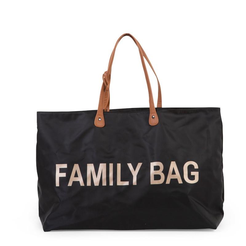 Sac à langer Family bag CHILDHOME Noir