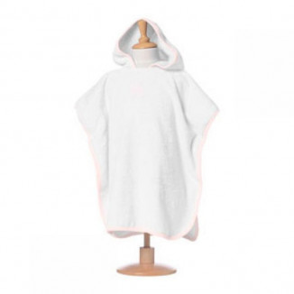 Poncho RED CASTLE 9-36mois Blanc/rose