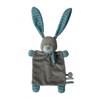 Doudou small PERICLES Happy blue