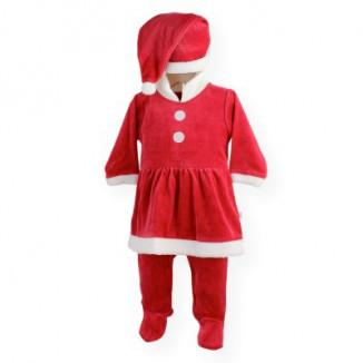 Costume de Noël Fille TROIS KILO SEPT Rouge