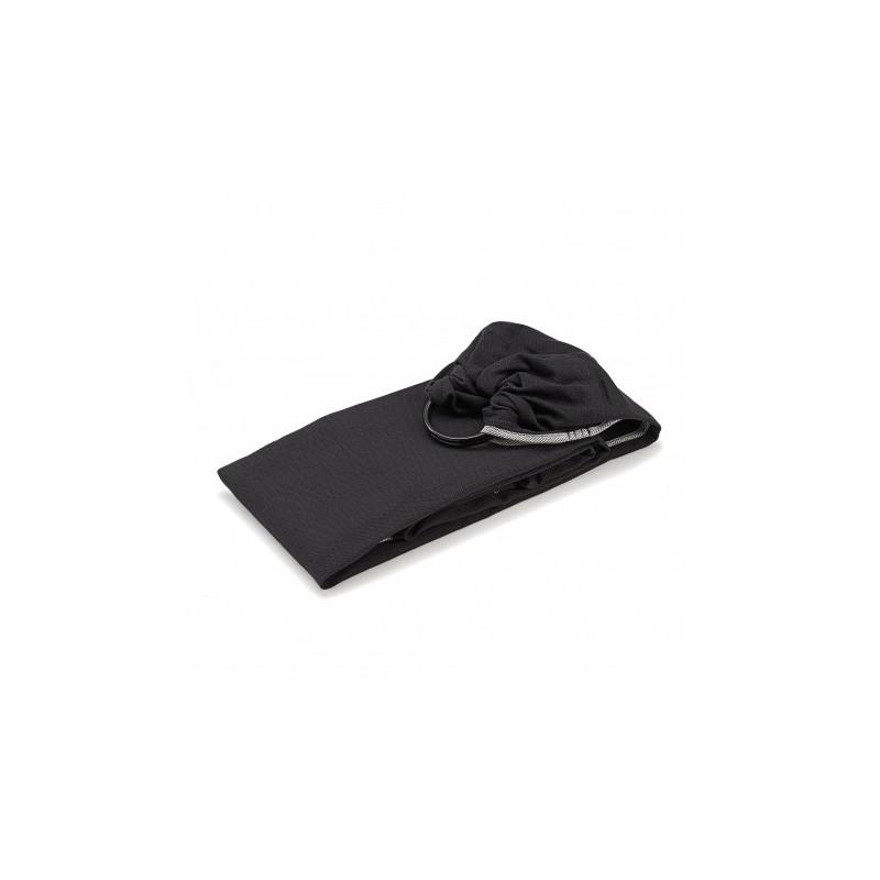 Écharpe de portage Sling en coton bio NEOBULLE Noir c'est noir