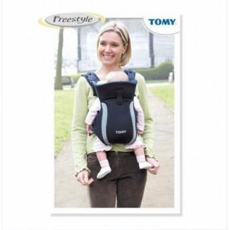 Porte bébé Freestyle Premier Noir Gris TOMY