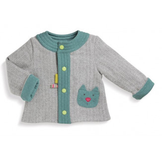 Cardigan Flamboyant 3M MOULIN ROTY Les Pachats