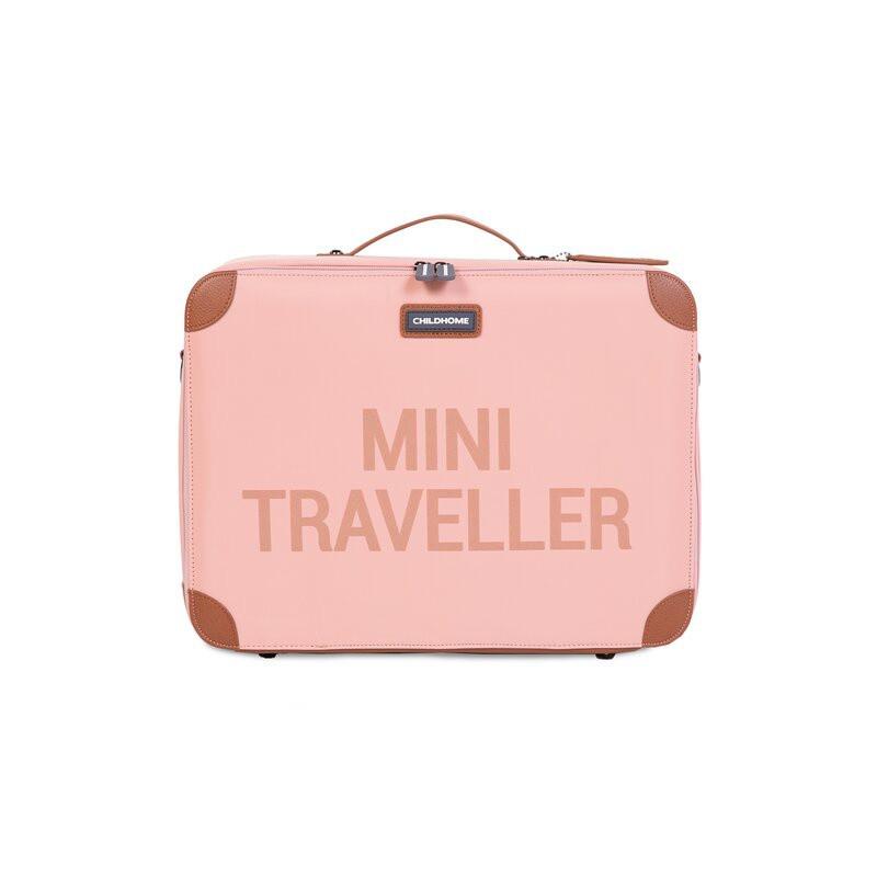 Valise Mini traveller CHILDHOME Rose