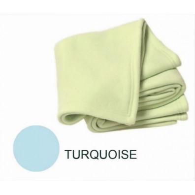 Couverture polaire Polex 75/100 Turquoise POYET MOTTE