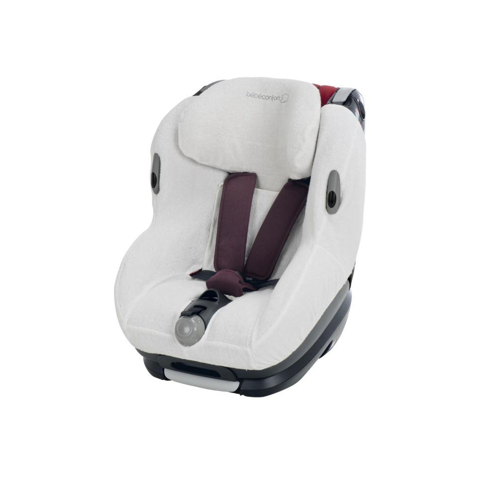 Housse ponge opal cream bebe confort babydrive for Housse siege auto opal