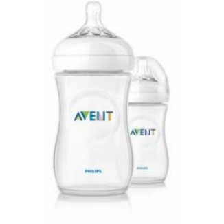Lot de 2 biberons Natural 260 ml PHILIPS AVENT