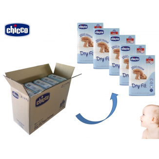Pack 170 couches Dry Fit Junior T5 12-25kg CHICCO