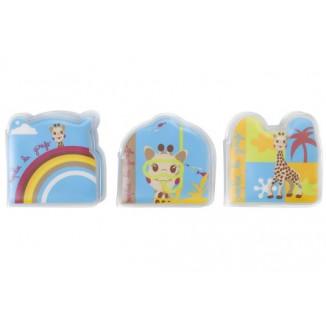 Livres de bain x3 Sophie la Girafe VULLI