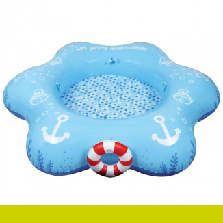Piscine XXL Petits moussaillons bleue JBM