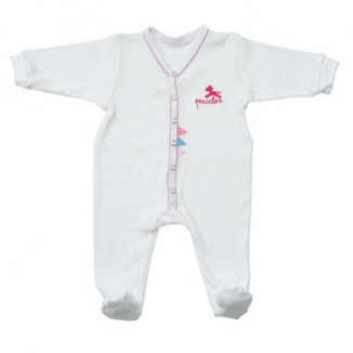 Pyjama 6mois Flower/pink Jumper PÉRICLES