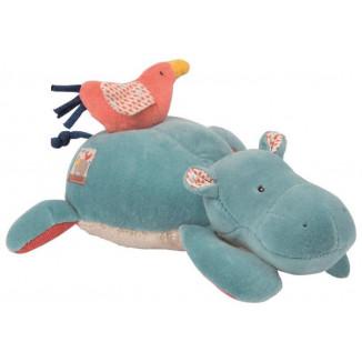 Poupée musique hippopotame MOULIN ROTY Les Papoum