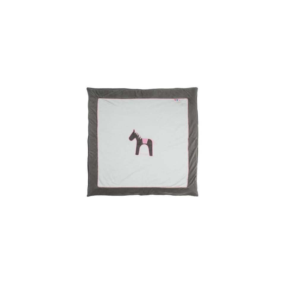 Tapis de parc Grey/pink Jumper PÉRICLES