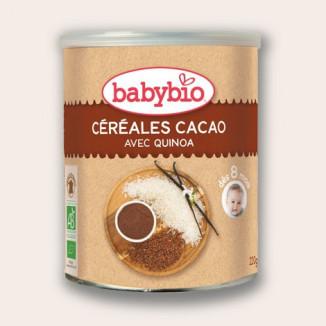 Céréales quinoa cacao BABYBIO 220g +8mois