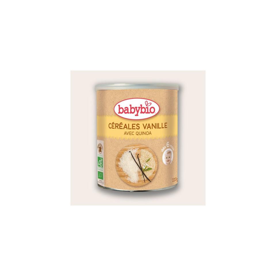 Céréales Quinoa BABYBIO Vanille 220g 6 mois