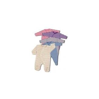 Pyjama rayures 1 mois LES CHATOUNETS