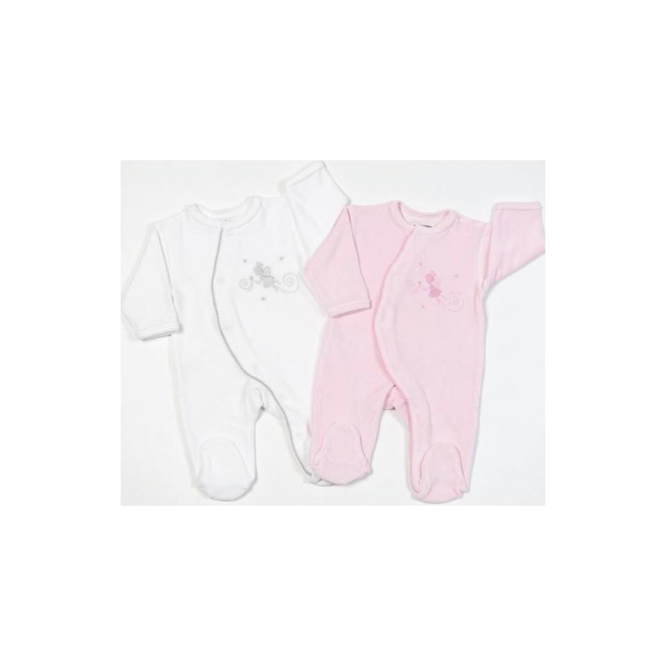 Pyjama Fées 6mois LES CHATOUNETS
