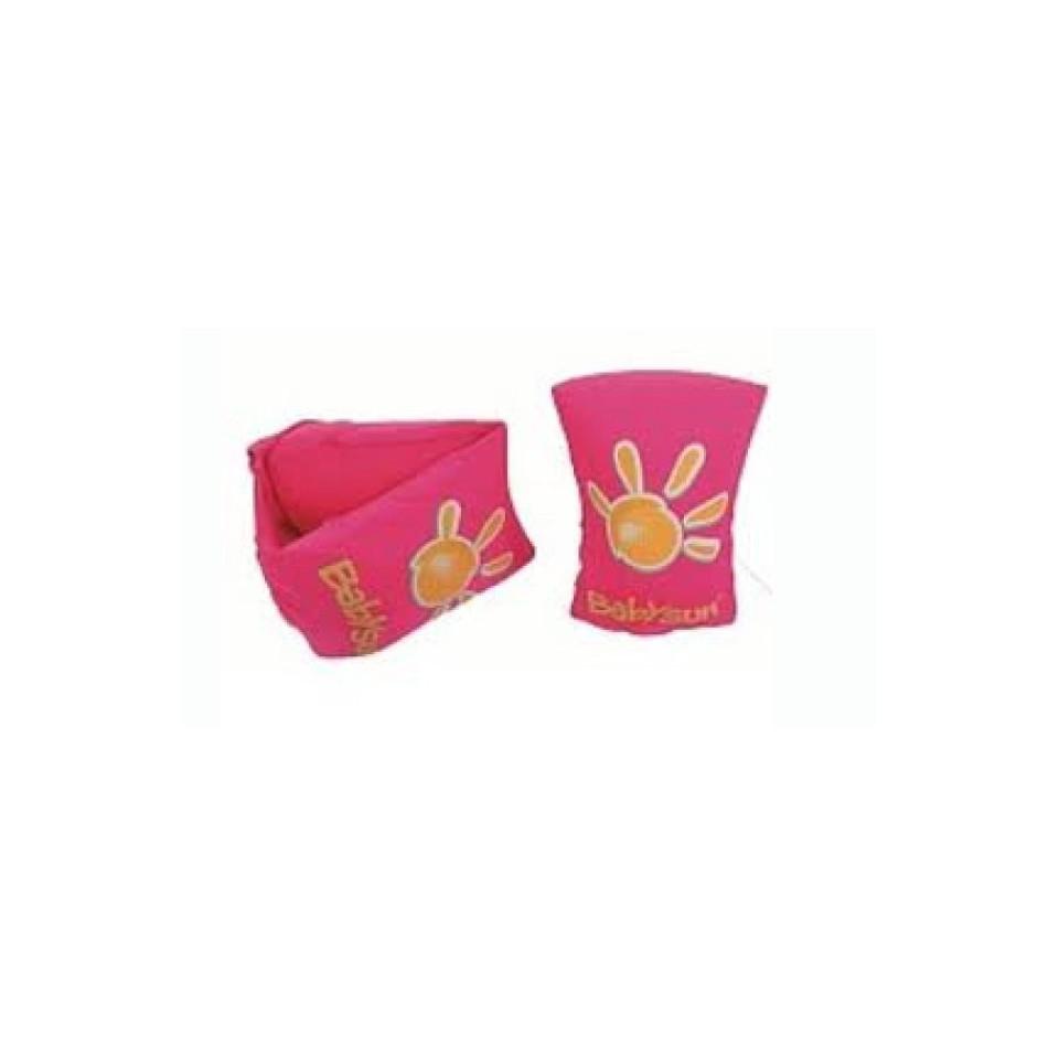 Brassards en tissu 2 à 6 ans BABYSUN Roses