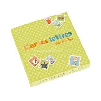 CARTES LETTRES MOULIN ROTY LA GRANDE FAMILLE