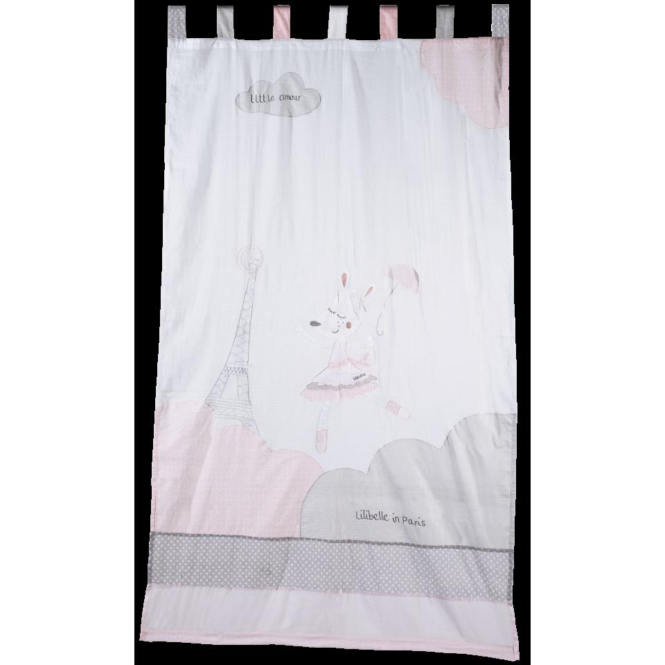 Rideau organdi SAUTHON Lilibelle - Babydrive