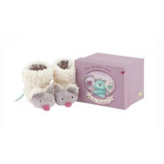 Chaussons souris MOULIN ROTY Pacha