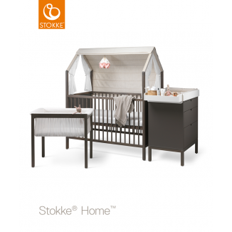 Chambre Trio Home™ STOKKE Gris brume