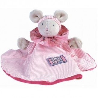 DOUDOU MARIONNETTE MOULIN ROTY LILA