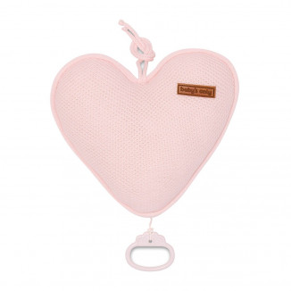 Boite à musique coeur BABY'S ONLY Classic Rose