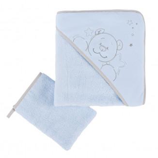 Set de bain NOUKIES Poudre d'étoiles bleue