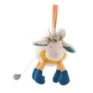 Poupée musicale mouton MOULIN ROTY Les Zig & Zag
