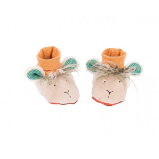 Chaussons mouton MOULIN ROTY Les Zig & Zag