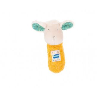 Hochet mouton Zéphir MOULIN ROTY Les Zig & Zag