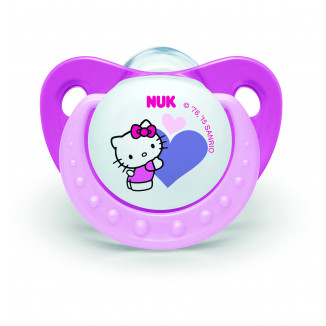 Sucette silicone x2 Taille 3 NUK Hello Kitty