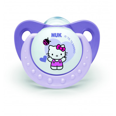 SUCETTE NUK HELLO KITTY X2 T3 SILICONE
