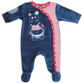 Pyjama 1 mois Hippipos BABYCALIN Les Déglingos
