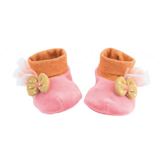 Chaussons roses MOULIN ROTY Les Tartempois