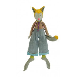 Peluche Loulou le loup MOULIN ROTY Les Tartempois