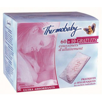 Coussinets allaitement ultra-absorbants THERMOBABY X70