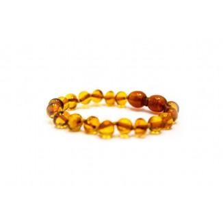 Bracelet d'ambre KADOLIS Clair