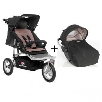 Duo RC2 Shop'n Jogg RED CASTLE Noir/Taupe