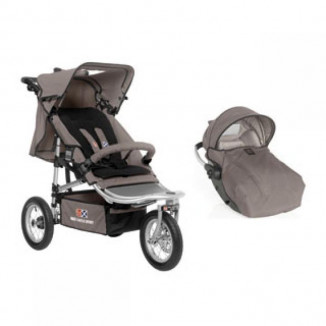 Duo RC2 Shop'n Jogg RED CASTLE Taupe/Noir