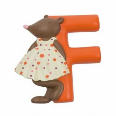 """LETTRE RESINE """"F"""" MOULIN ROTY"""