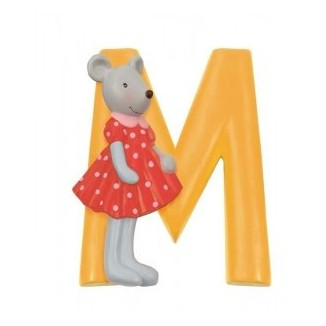 "LETTRE RESINE ""M"" AUTRE PERSO MOULIN ROTY"