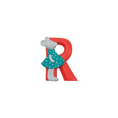 "LETTRE RESINE ""R"" MOULIN ROTY"