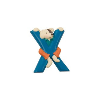 "LETTRE RESINE ""X"" MOULIN ROTY"